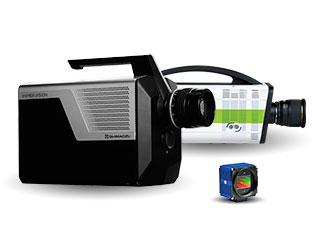 Shimadzu HPV-X2, iX Cameras i-SPEED Series 7 and SVS Vistek SVCam-HR cameras.
