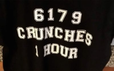 Garry Rumbaugh Sets Record 6179 Crunches in 1 Hour