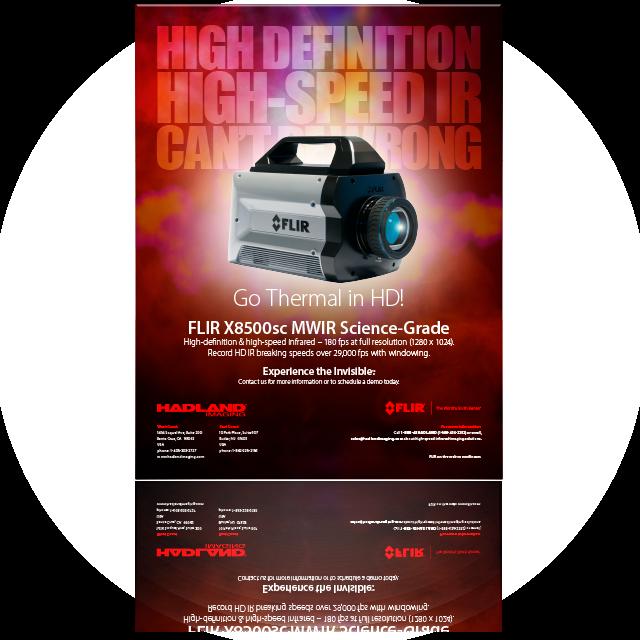 FLIR X8500sc HD MWIR datasheet.