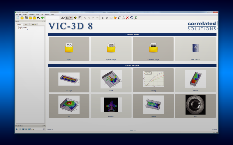 Correlated Solutions Adds New Features to VIC-3D version 8