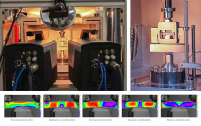 Correlated Solutions: VIC-3D Ultra High-Speed Short Beam Test