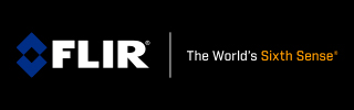 FLIR – The World's Sixth Sense® logo.