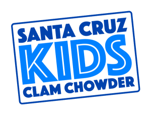 Santa Cruz Kids Clam Chowder logo.