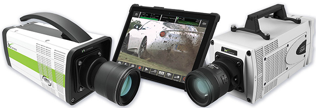 i-SPEED 7 Series Cameras with CDUe Touchscreen