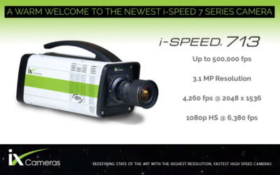 New iX Cameras i-SPEED 713 Camera