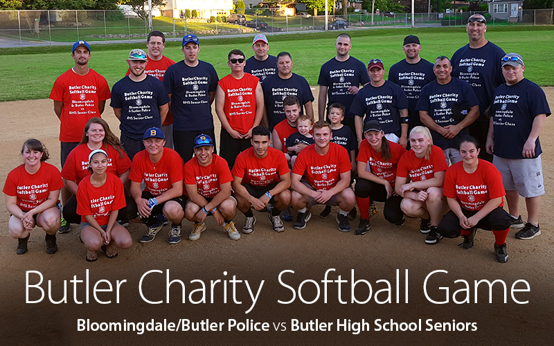 Hadland Supports Butler High School/Police Charity Softball Game