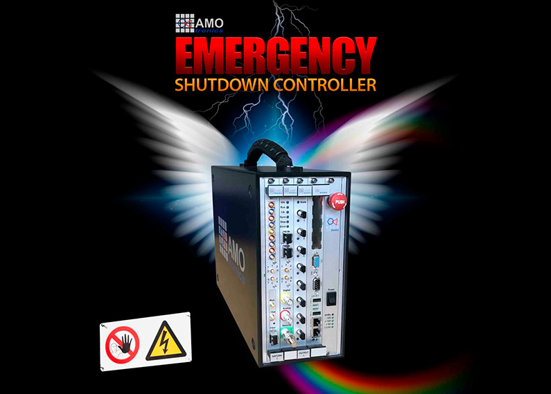 AMOtronics: Automatic Emergency Shutdown for Power Test Labs
