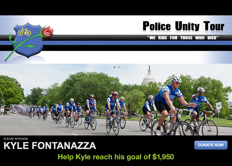 Hadland Imaging Supports Kyle Fontanazza on Butler Police Unity Tour