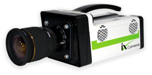 iX Cameras i-SPEED 5 Series high-speed video camera.