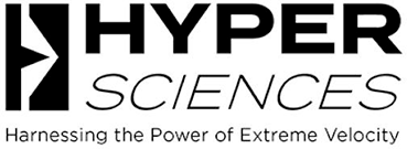 HyperSciences logo. Harnessing the power of extreme velocity.
