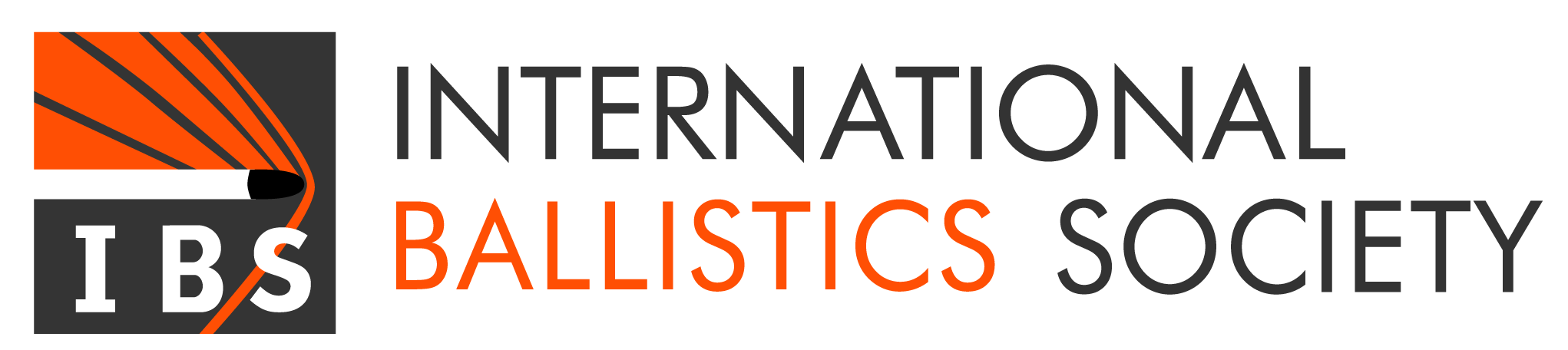 International Ballistics Society logo.