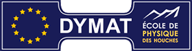 DYMAT Winter School 2020 logo.