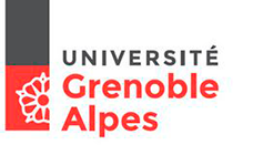 Université Grenoble Alpes logo.