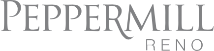 Peppermill Reno logo.