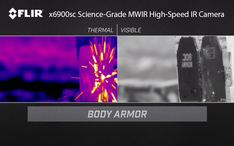 FLIR: Watching Bullets Fly with High-Speed Thermal!
