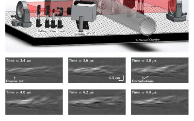 Schlieren Diagnostic for Cinematic Visualization of Dense Plasma Jets at Alfvénic Timescales