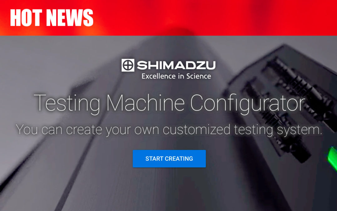 Shimadzu Testing Machine Configurator feature image.
