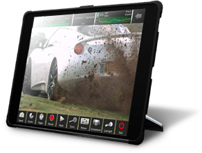iX Cameras CDUe touchscreen tablet.