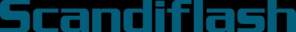 Scandiflash logo.