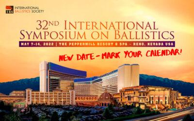32nd International Symposium on Ballistics 2022 in Reno, Nevada