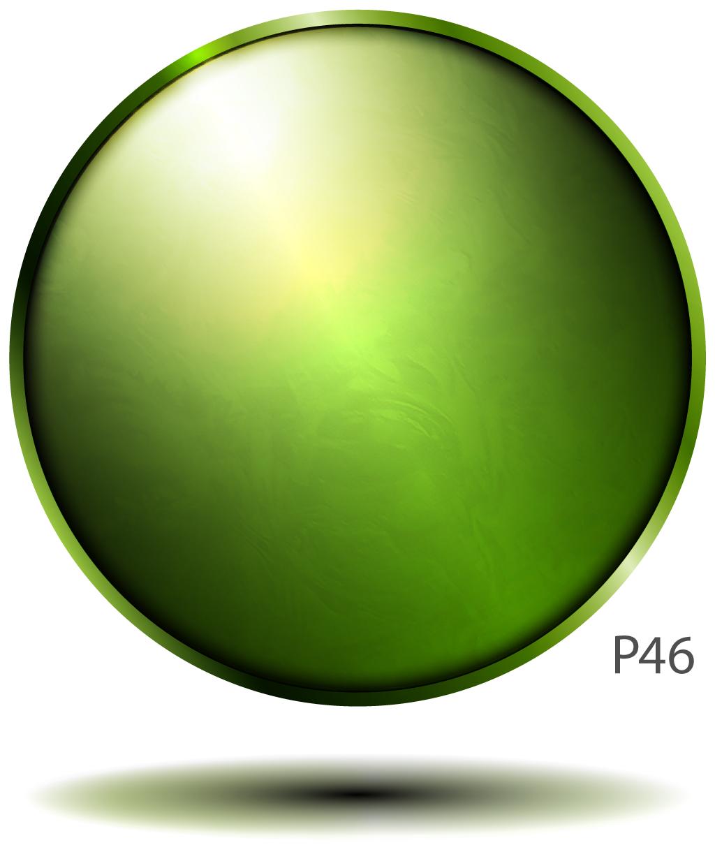 P46 phosphor screen illustration.