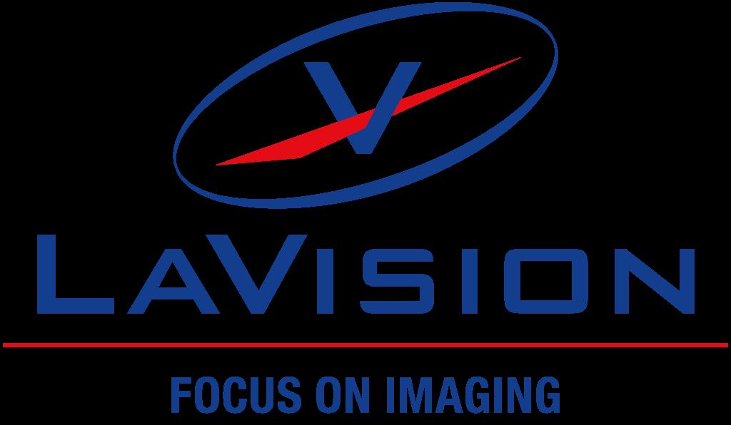 LaVision logo.