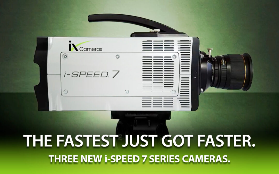 New i-SPEED 7 Series Cameras for 2021