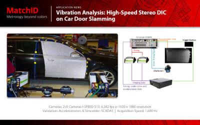 Vibration Analysis – High-Speed Stereo DIC on Car Door Slamming