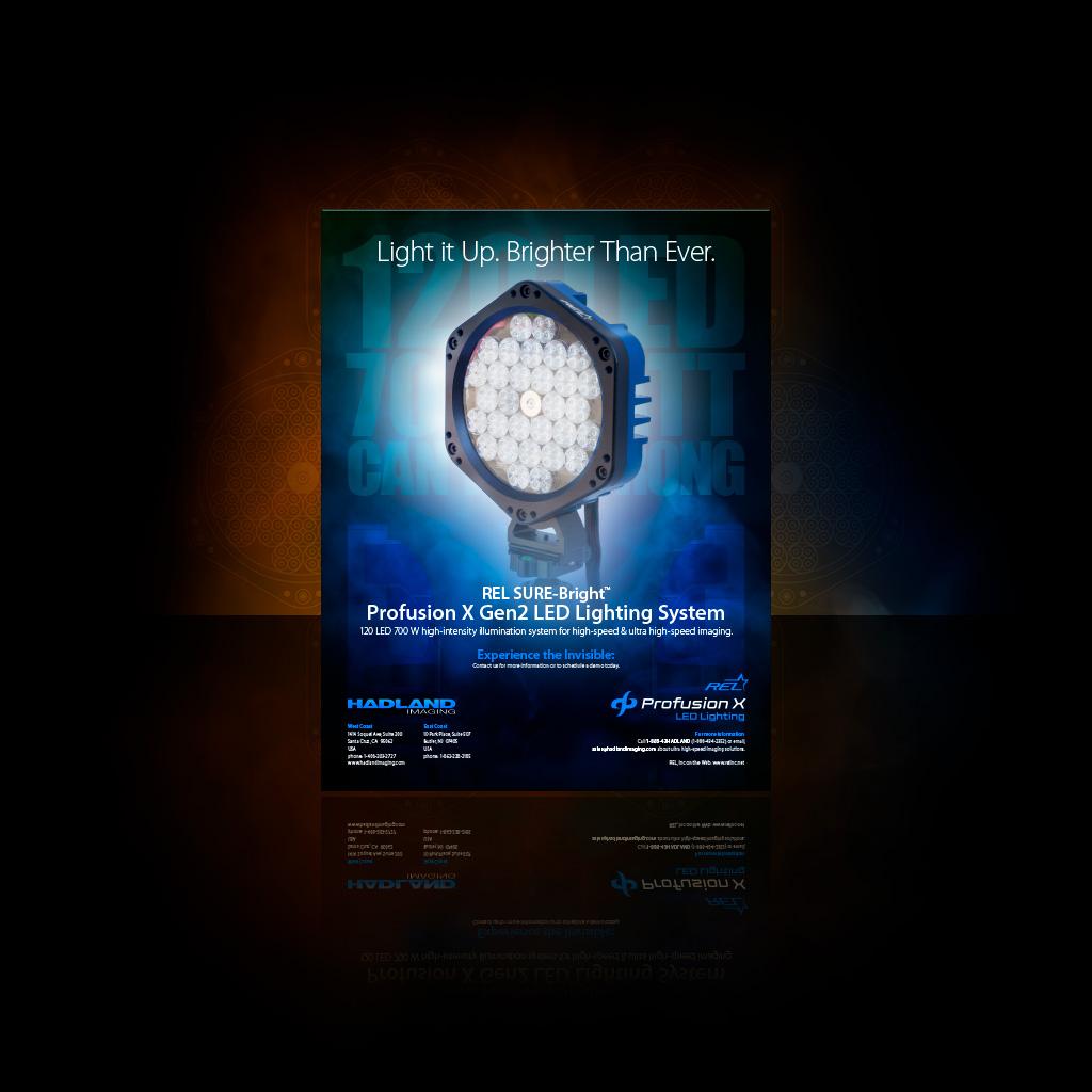 ReL Profusion X Gen2 LED Lighting System Datasheet icon.