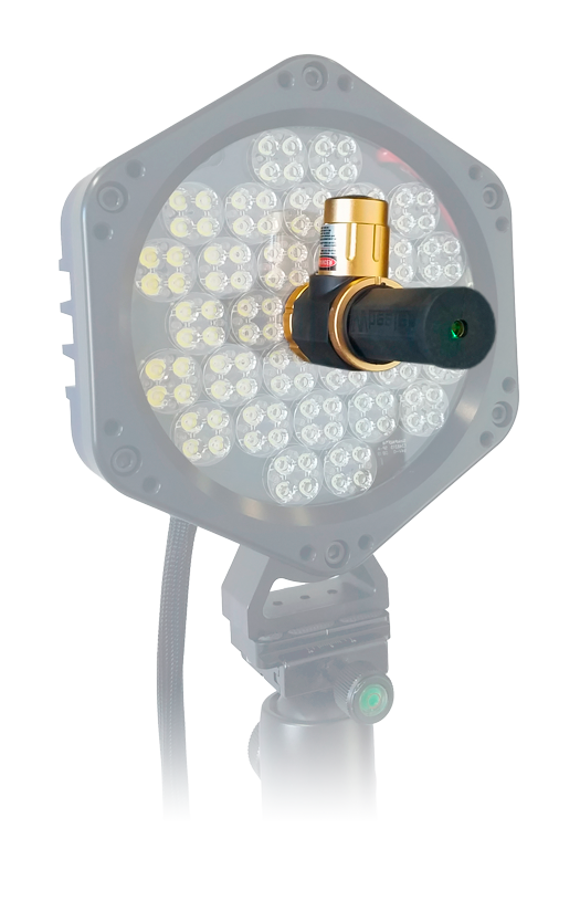 REL SURE-Bright™ Profusion X Gen2 LED module with laser pointer.