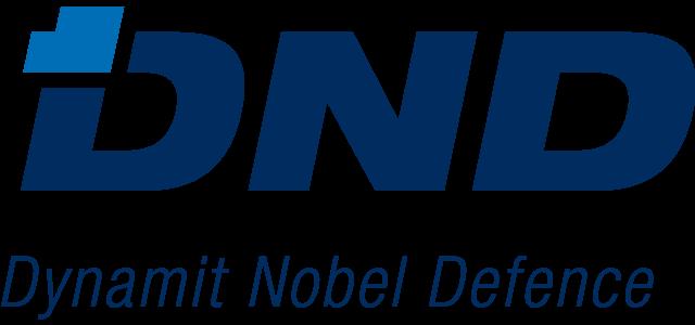 Dynamit Nobel Defense logo.