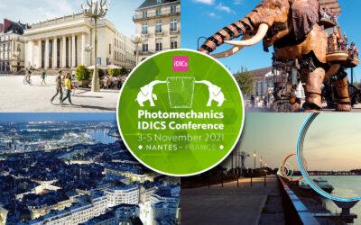 Photomechanics iDICs Conference, November 3–5, 2021, Nantes, France