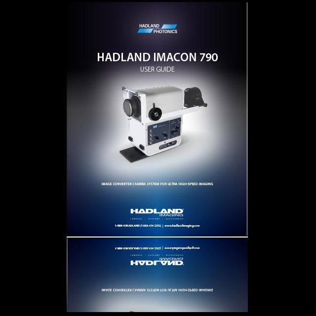 HADLAND IMACON 790 User Guide icon.