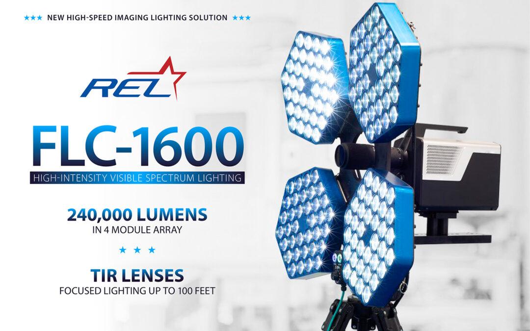 REL FLC-1600 High-Intensity Visible Spectrum Lighting System.