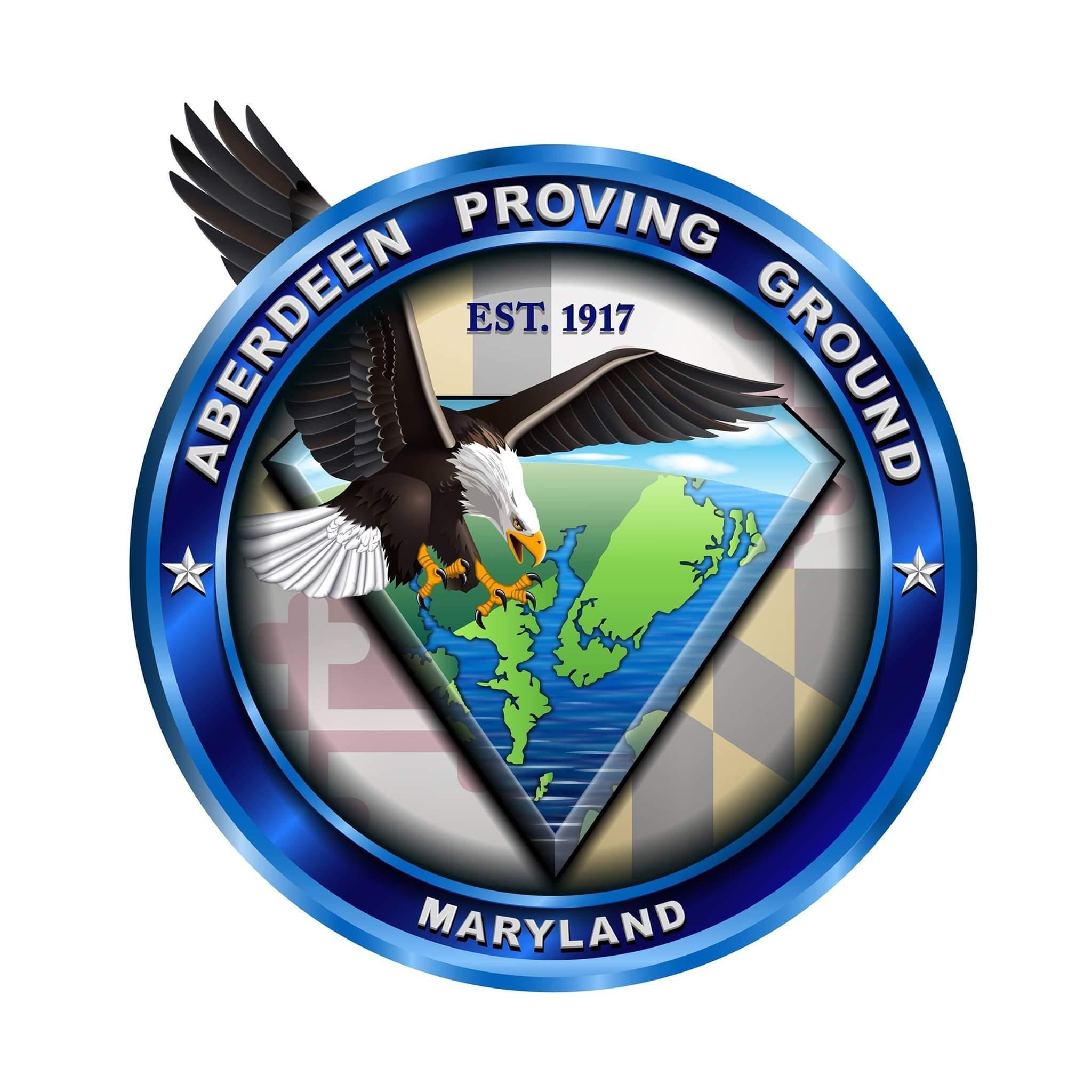 Aberdeen Proving Ground badge.